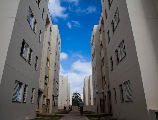 Conjunto habitacional em Itaquera, zona leste de São Paulo