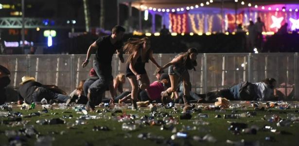 Atentado realizado em Las Vegas, ocorrido em 1º de outubro, deixou ao menos 58 mortos
