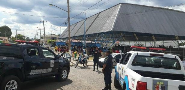 Em Pacaraima, população pede à prefeitura que não transforme em abrigo o ginásio poliesportivo da cidade - Divulgação