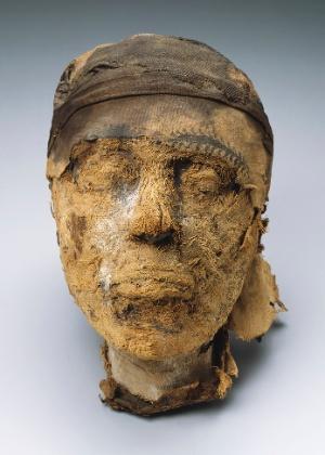 Cabeça mumificada foi encontrada no túmulo de um governador chamado Djehutynakht e de sua esposa