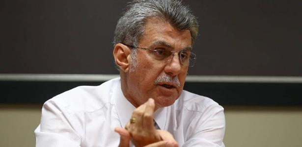O senador Romero Jucá (MDB-RR), presidente nacional do MDB