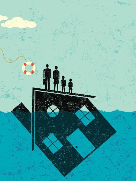 72,9% das famílias brasileiras estão endividadas recorde desde que o levantamento começou, em 2010 - Getty Images/iStockphoto