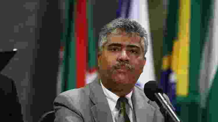 O então superintendente da Polícia Federal no Paraná, delegado Rosalvo Ferreira Franco - Geraldo Bubniak/AGB/AE - 10.nov.2016