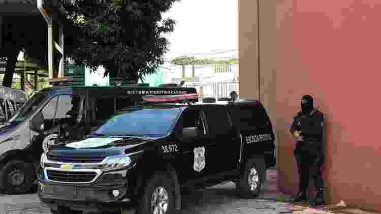 João de Deus foi levado em escolta policial para prestar depoimento ao MP-GO - Divulgação/MP-GO