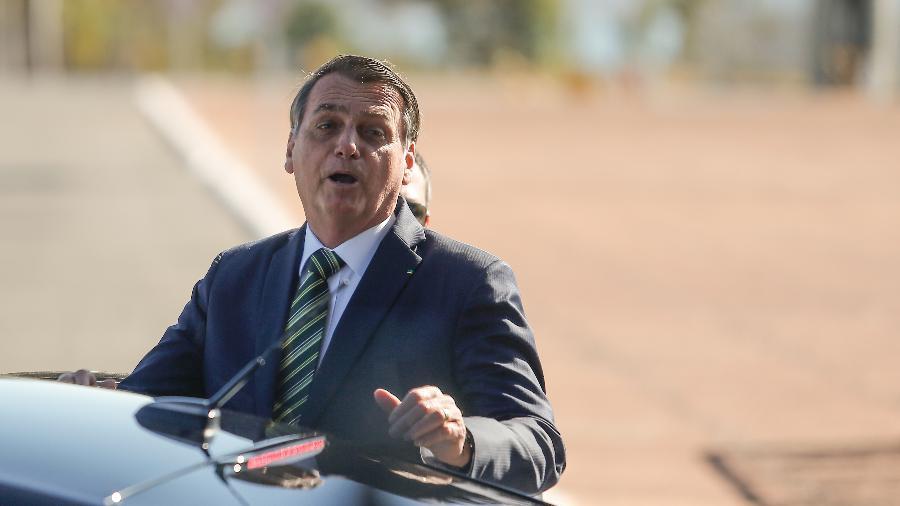 O presidente Jair Bolsonaro no Palácio da Alvorada, em Brasília - Gabriela Biló/Estadão Conteúdo - 30.jul.2019