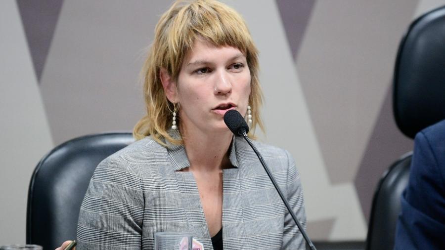 Rebecca Shaeffer, representante para as Américas da ONG Fair Trails - Pedro França/Agência Senado