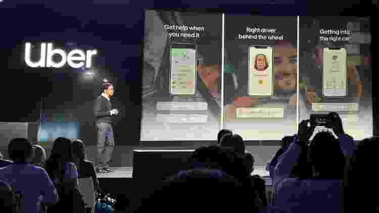 Novas ferramentas de segurança da Uber - Rodrigo Trindade/UOL - Rodrigo Trindade/UOL