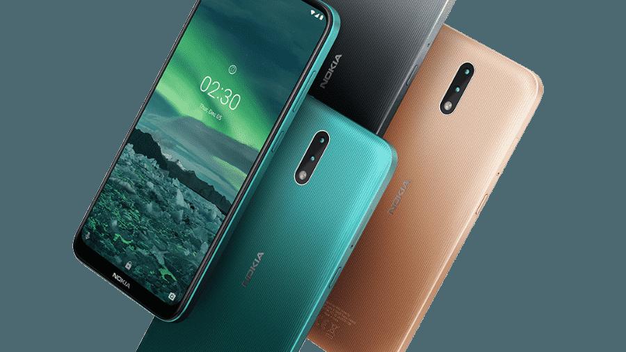 Nokia 2.3, smartphone que marcará o retorno da icônica marca ao Brasil - Divulgação/HMD Global