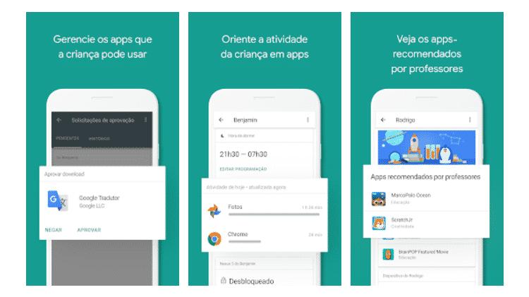 Baixe Estes Apps - Google Family Link - Divulgação - Divulgação