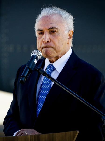 O ex-presidente Michel Temer foi convidado por Jair Bolsonaro para chefiar a missão brasileira ao Líbano - Aloísio Maurício/Fotoarena/Estadão Conteúdo