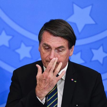 Arquivo - O presidente Jair Bolsonaro reconheceu que o índice de desemprego segue alto no Brasil - Mateus Bonomi/AGIF/Estadão Conteúdo