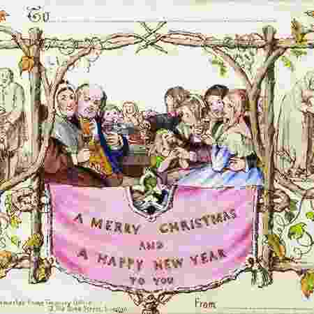 Imagem causou controvérsia na época ao trazer criança com taça de vinho nas mãos - Battledore Ltd./Divulgação