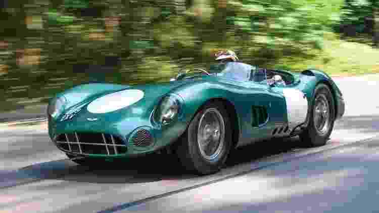 Aston Martin DBR1 1956 - RM Sotheby's / Divulgação  - RM Sotheby's / Divulgação
