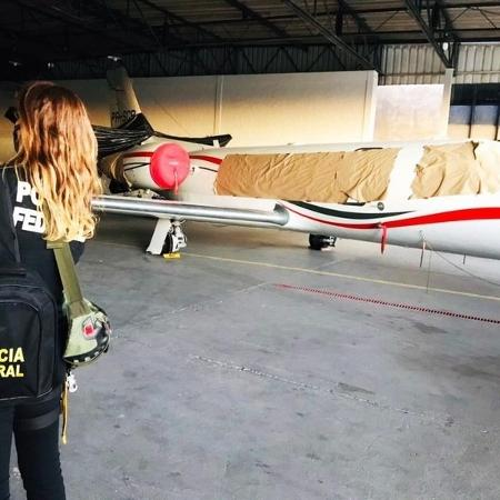 PF deflagra Operação Flight Level e confisca 8 aviões do tráfico internacional - Divulgação/Polícia Federal