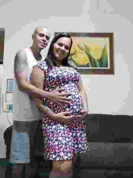Felipe Moreira dos Santos, de 32 anos, e Camila Ferreira, de 24 anos - Arquivo pessoal - Arquivo pessoal