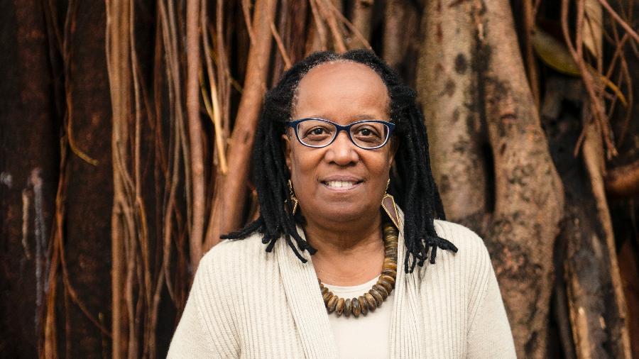 Filósofa e ativista Sueli Carneiro, fundadora do Geledés Instituto da Mulher Negra, é homenageada em ocupação do Itaú Cultural em 2021 - André Seiti/Acervo Itaú Cultural