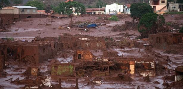 Rompimento da barragem deixou 17 mortos e dois desaparecidos