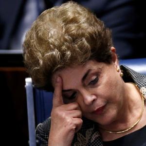 29.ago.2016 - Dilma Rousseff em depoimento no Senado
