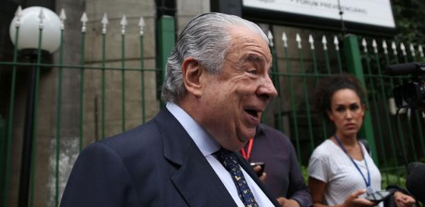 José Roberto Batochio, advogado de Antonio Palocci, deixa o prédio da Justiça Federal
