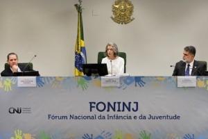 Cármen Lúcia abriu Fórum Nacional da Infância e da Juventude
