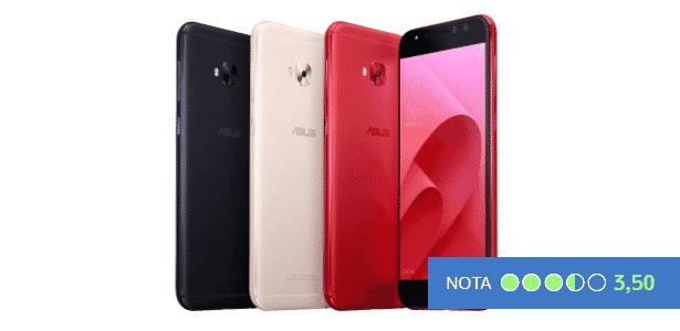 Zenfone 4 Selfie Pro - nota do UOL Tecnologia - Arte/UOL  - Arte/UOL