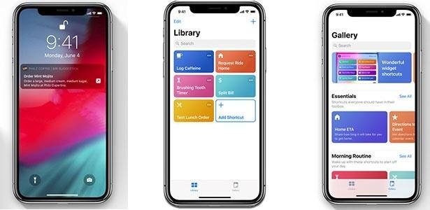 Atalhos iOS 12 - Reprodução