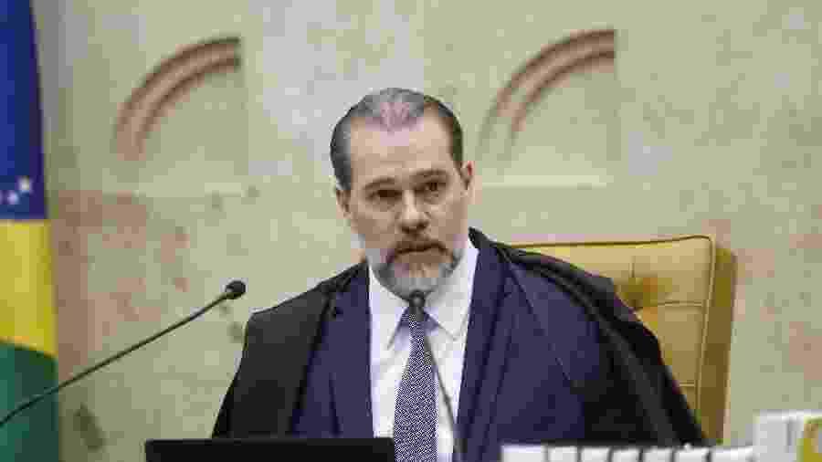 13.fev.2019 - O presidente do Supremo Tribunal Federal (STF), Dias Toffoli - DIDA SAMPAIO/ESTADÃO CONTEÚDO