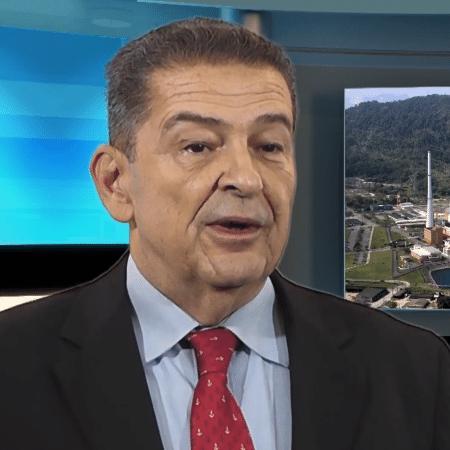 Leonam Guimarães foi militar da Marinha antes de assumir a presidência da Eletronuclear - Reprodução/Youtube