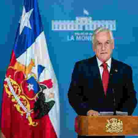 19.out.2019 - Presidente do Chile, Sebastián Piñera - Divulgação/Presidência do Chile via AFP