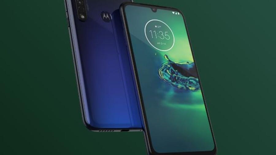 Moto G8 Plus, da Motorola - Divulgação