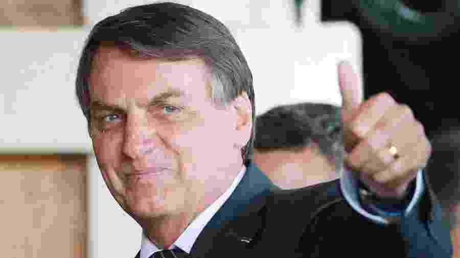 O presidente Jair Bolsonaro desafiou os governadores a zerar o ICMS que incide sobre os combustíveis - Reuters