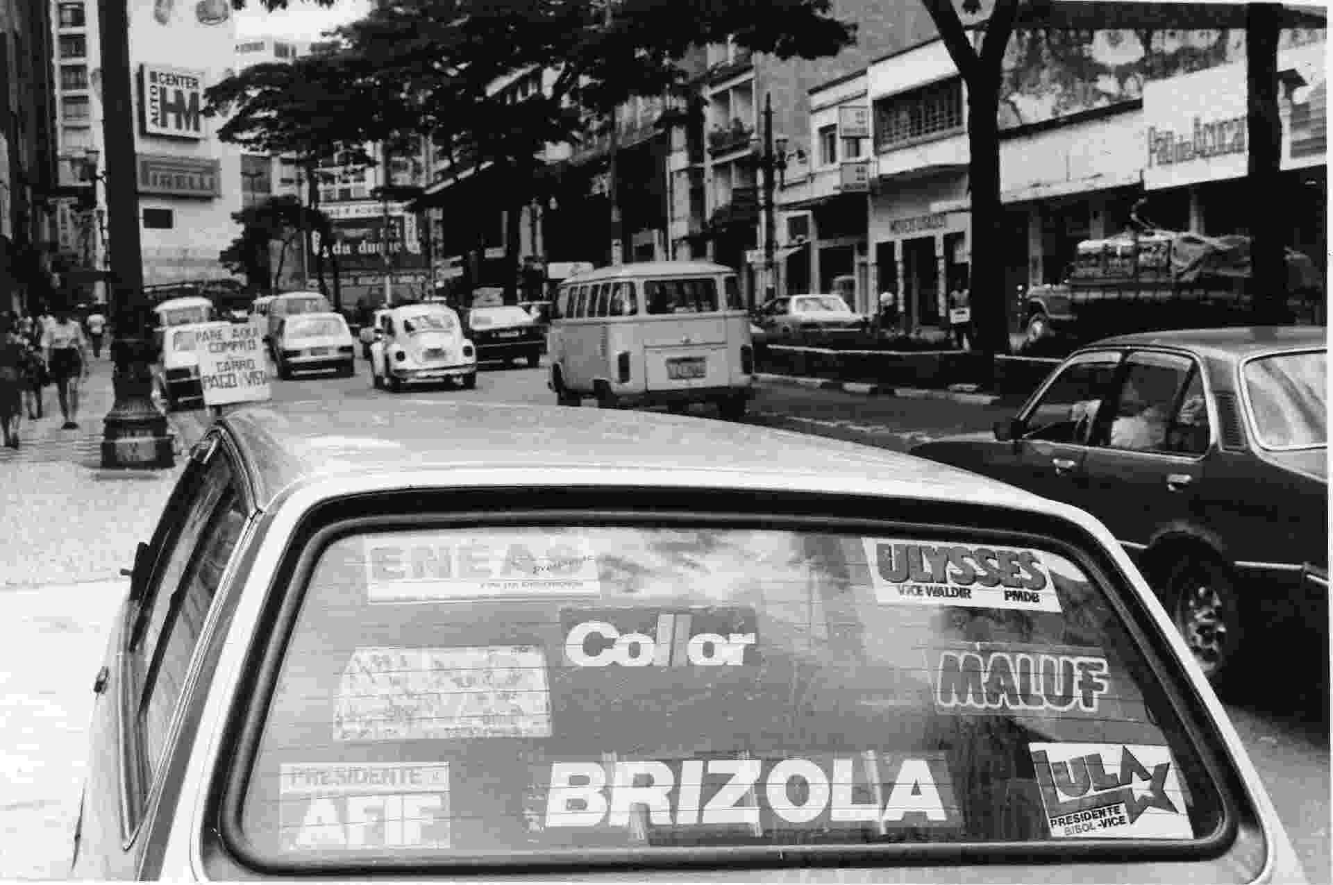 O ambiente partidário fragmentado em 1989 resultou num número recorde de canditaturas: foram 22 aspirantes ao cargo de presidente - Juca Rodrigues/Folhapres