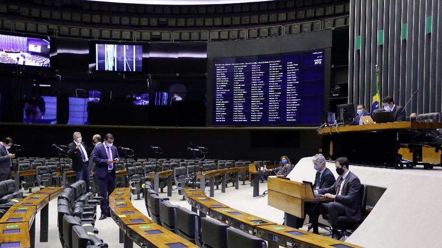 Tema fazia parte da pauta do dia, mas foi removido depois da aprovação da MP 958 - Michel Jesus/Câmara dos Deputados/Divulgação
