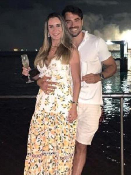 Elton Gonçalves Campelo e Isabela Araújo Valença foram encontrados em condomínio de área nobre de Salvador - Redes sociais/Reprodução