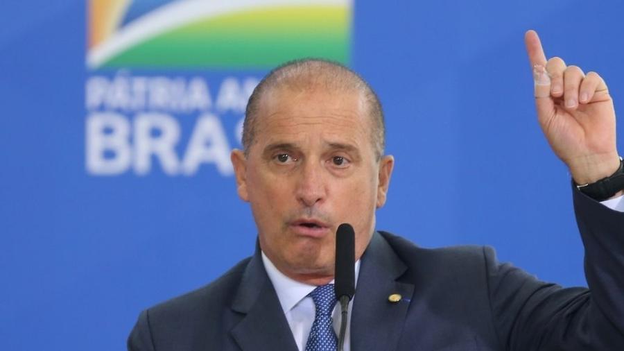 """Ministro do Trabalho e Previdência, Onyx Lorenzoni diz que país mostrou """"excelente desempenho econômico"""" durante a pandemia - Fábio Rodrigues Pozzebom/Agência Brasil"""