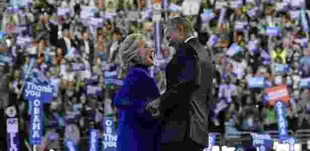 """Obama disse que a candidata democrata à Casa Branca é """"respeitada no mundo todo"""" - Mandel Ngan/AFP"""