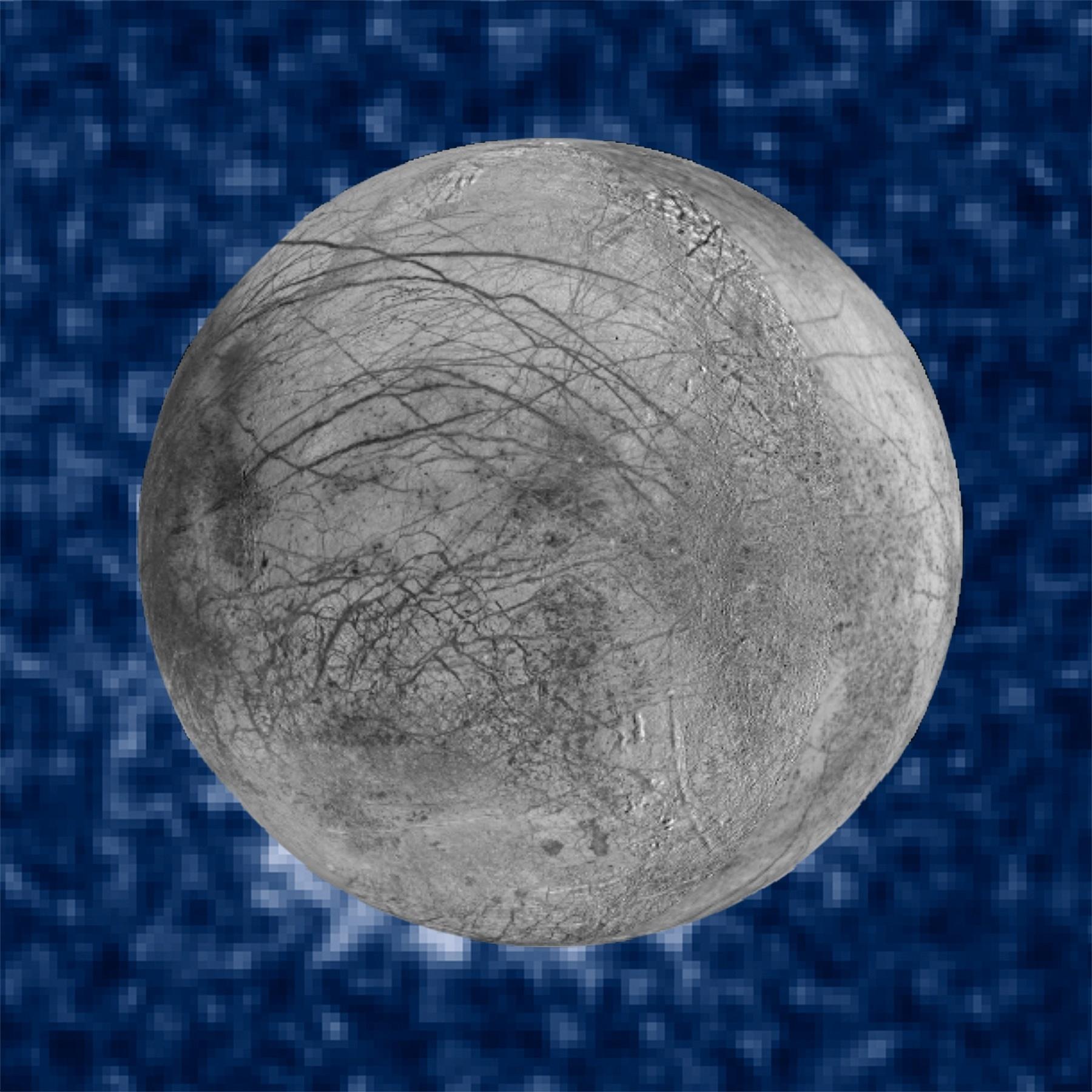 Imagens de plumas de água da lua Europa foram feitas a partir de observações do Hubble