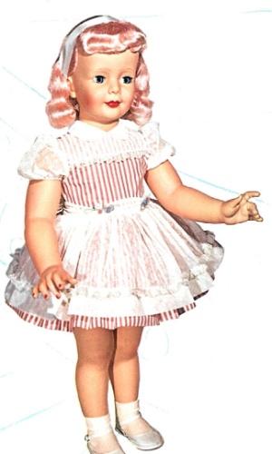 Boneca Amiguinha da Estrela tinha 90 centímetros