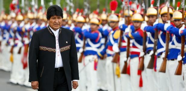 'Bolívia e Brasil são povos irmãos com laços profundos de integração', disse Morales