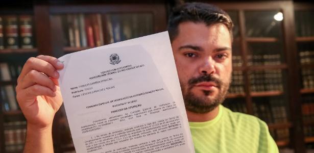 """""""Sou tão carente quanto um negro"""", diz Fabrício Ramirez Bonacinaexcluído em Direito na UFRGS como cotista - Marcos Nagelstein/Estadão Conteúdo"""