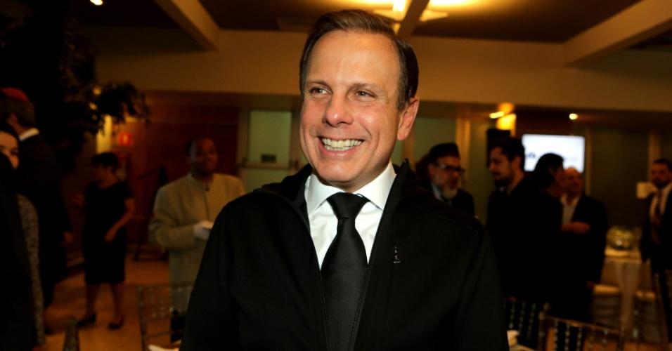 """23.jan.2018 - """"Sou filho das prévias, mas fico na prefeitura"""""""
