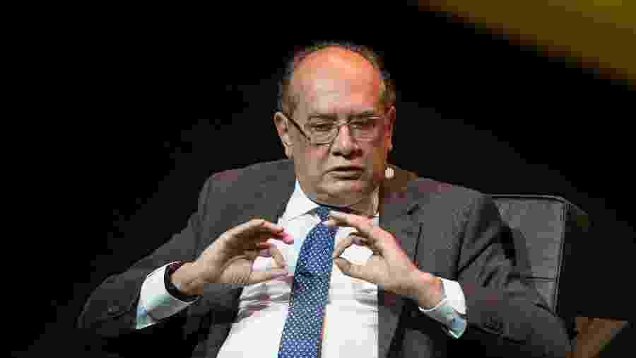 24.abr.2018 - O ministro do Supremo Tribunal Federal (STF) Gilmar Mendes - AMANDA PEROBELLI/ESTADÃO CONTEÚDO