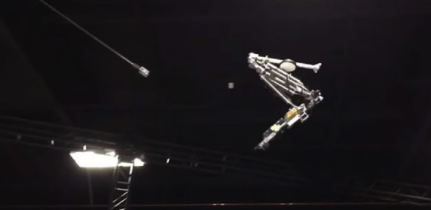 Stickman, robô da Disney capaz de dar piruetas no ar