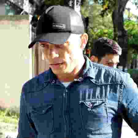 20.fev.2019 - Davi Ricardo Moreira Amâncio chega à Delegacia de Homicídios na Barra da Tijuca, zona oeste do Rio - LUCIANO BELFORD/AGÊNCIA O DIA/AGÊNCIA O DIA/ESTADÃO CONTEÚDO