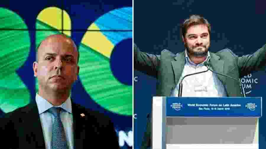 Carlos da Costa (à esq.), secretário especial de Produtividade e Emprego, e Luiz Augusto Ferreira, presidente da ABDI - Arte/UOL