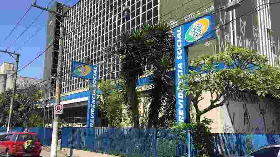 Agência do INSS no Brás, em São Paulo - Lucas Borges Teixeira/UOL