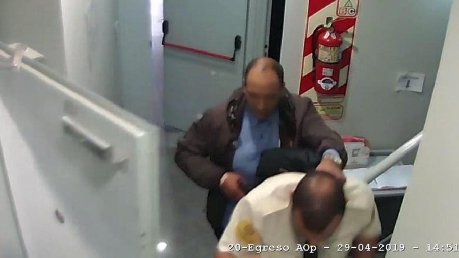 Homem assaltou banco na Argentina - Divulgação/Polícia