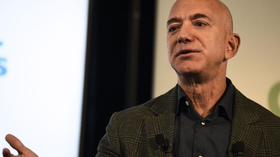 O fundador e CEO da Amazon, Jeff Bezos, tem fortuna superior a US$ 200 bilhões - Eric Baradat/AFP