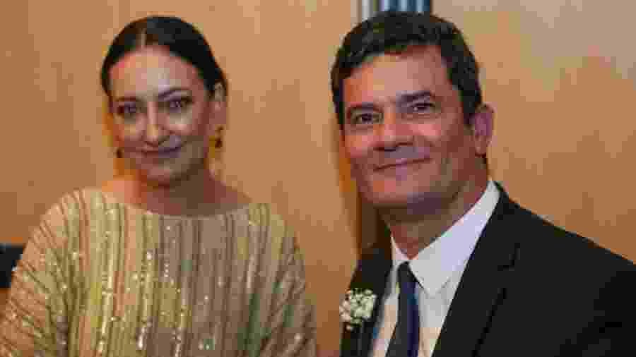 Rosangela Moro e Sergio Moro - Foto: - Pedro Ladeira- 14.fev.20/Folhapress