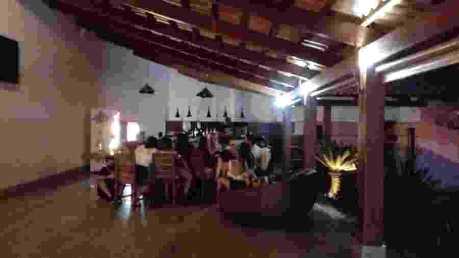 Festa com cerca de 25 pessoas em motel em Aparecida de Goiânia é interrompida pela polícia - Semma/Divulgação